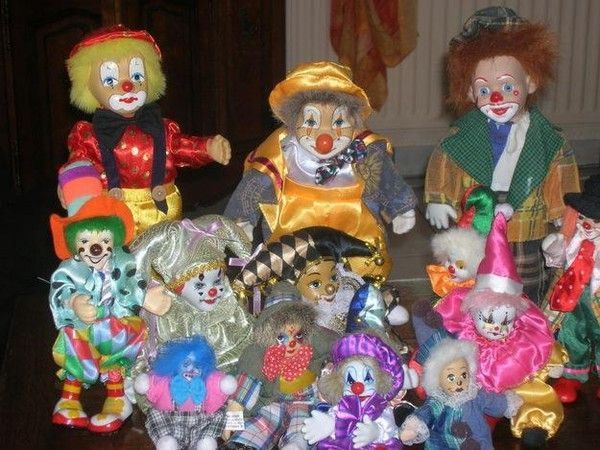 Figurines clowns 0fca2618