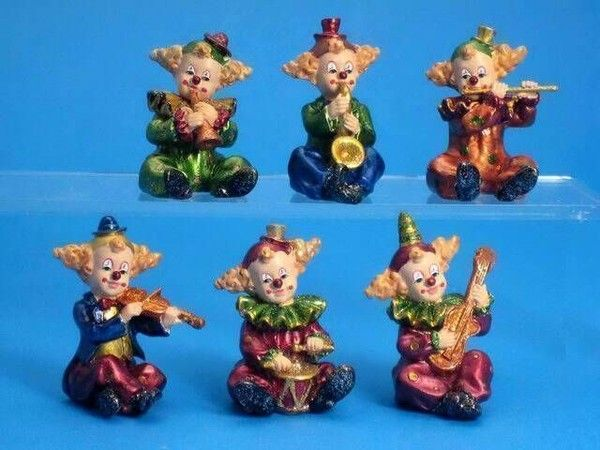 Figurines clowns 26dbd37e