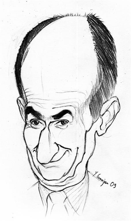 CARICATURE LOUIS DE FUNES