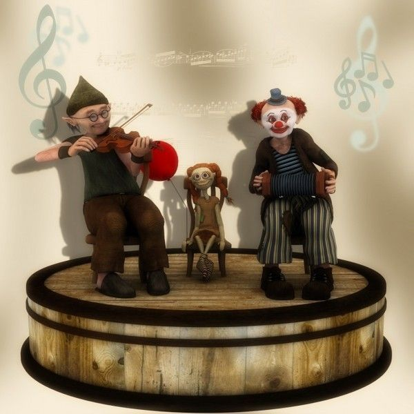 Figurines clowns 8f9a4c5c