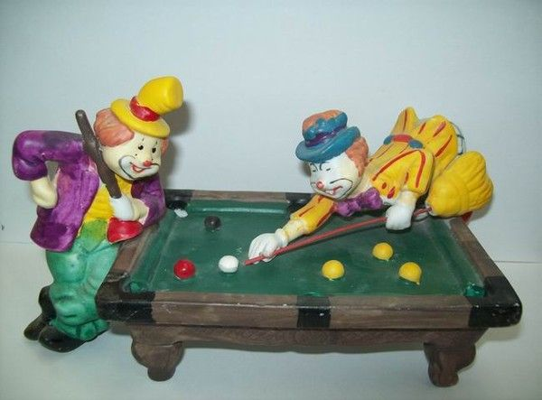 Figurines clowns 9dc51e39
