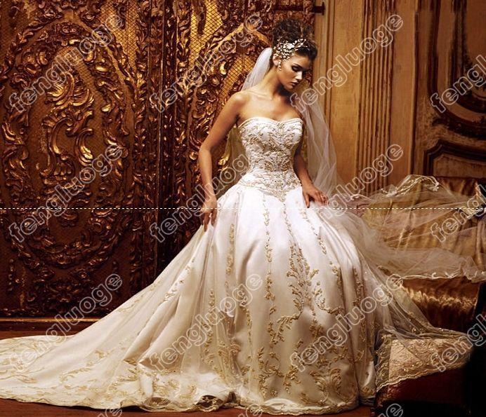 Robe de mariage fond