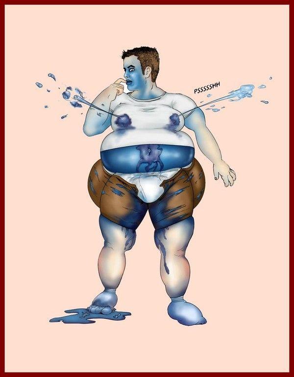 femme grosse femme dessin anmee