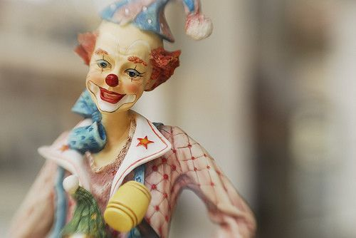 Figurines clowns C950006f