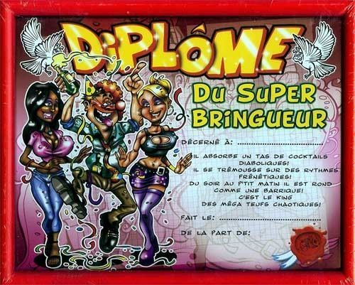 DIPLOME HUMOUR