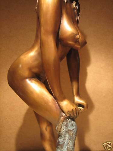 figurine  de bronze 31