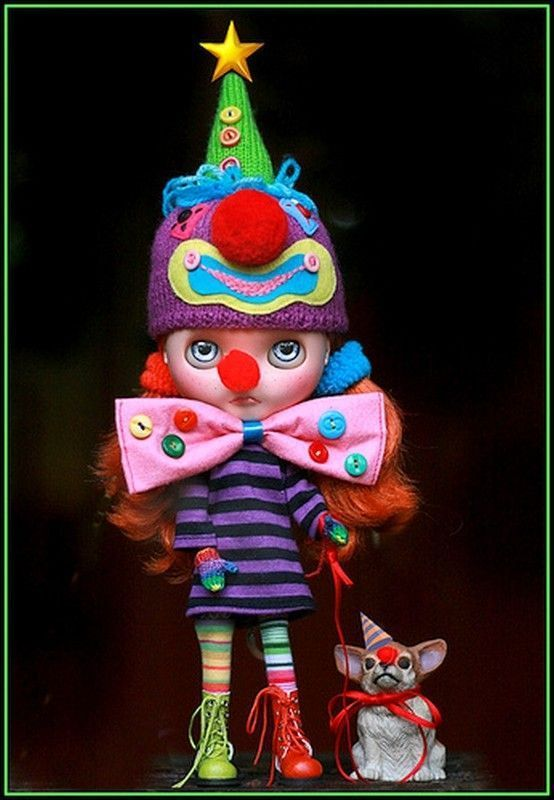 Figurines clowns D243616f