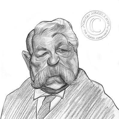 CARICATURE JEAN GABIN