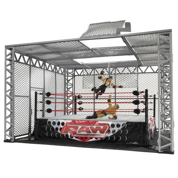 jouet wwe cage