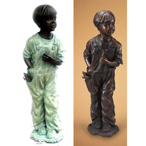 STATUE DE BRONSE ENFANTS 18