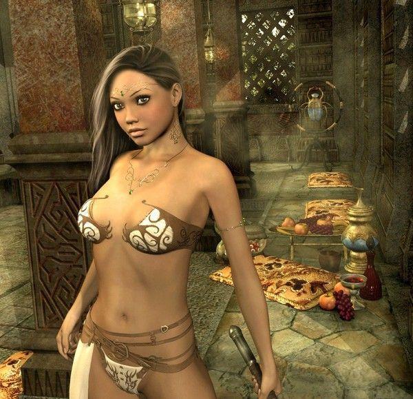 age of conan naked girl № 180501